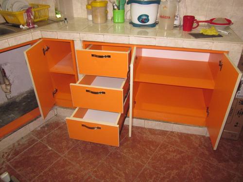 diseño y fabricación de muebles con melamina