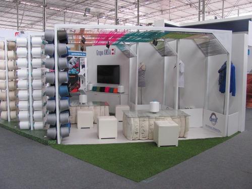 diseño y fabricacion de stand alquiler de mobiliario