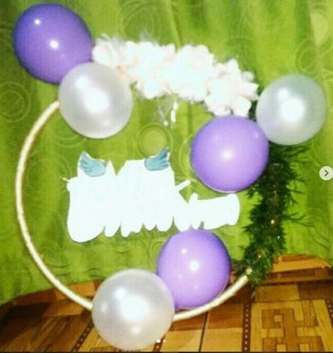 diseño y montaje de eventos - decoración con globos
