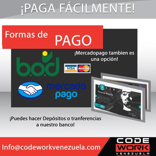 diseño y programacion de paginas web y sistemas informaticos