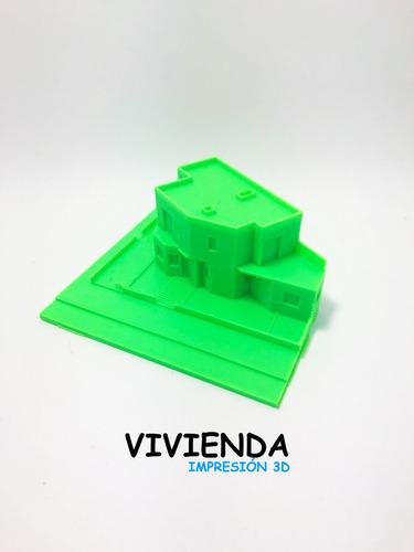 diseño y servicio de impresion 3d pla
