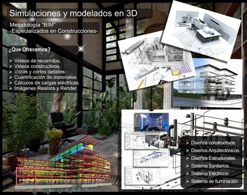 diseño y simulación en 3d, inventor y revit-maya y naviswor