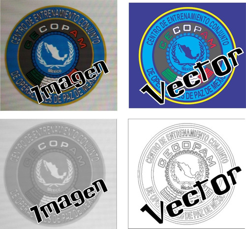 diseño y vectorización de imágenes