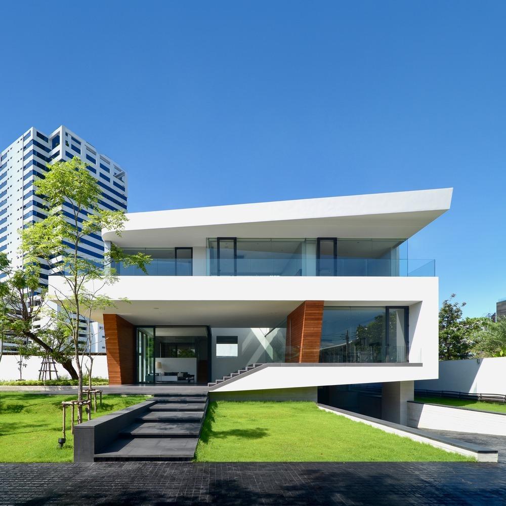Dise os de casas minimalista planos cad y fotos envio for Design minimalista