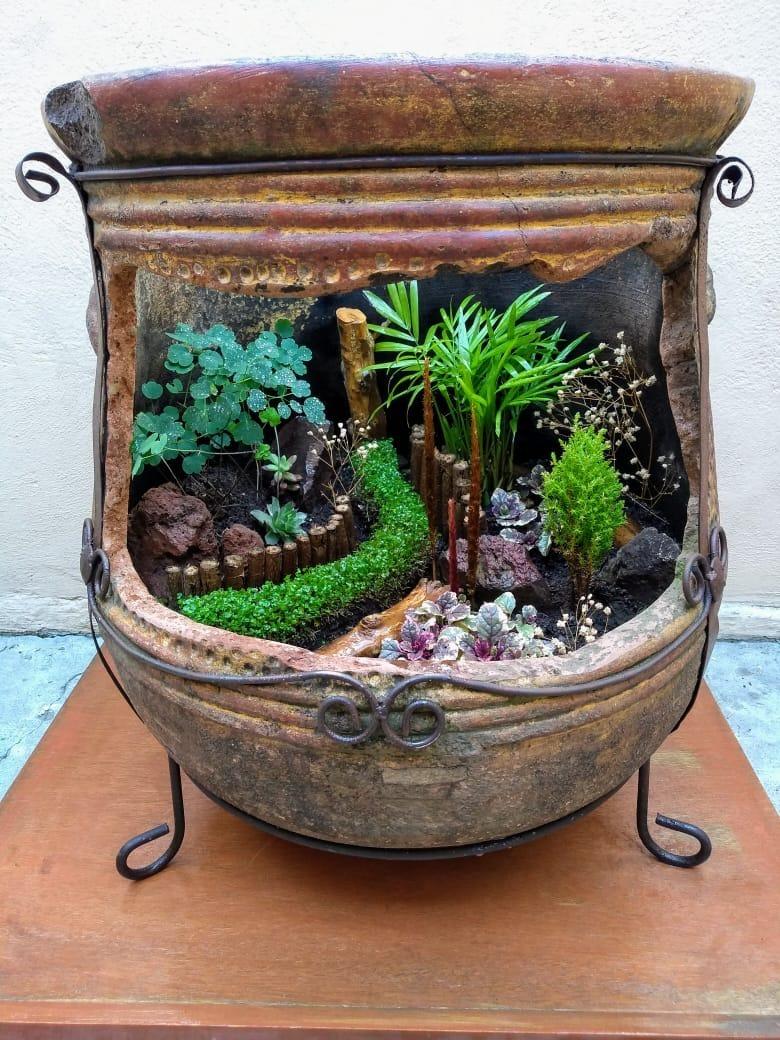 Dise os de jardines peque os en macetas 2 en for Macetas para jardines pequenos