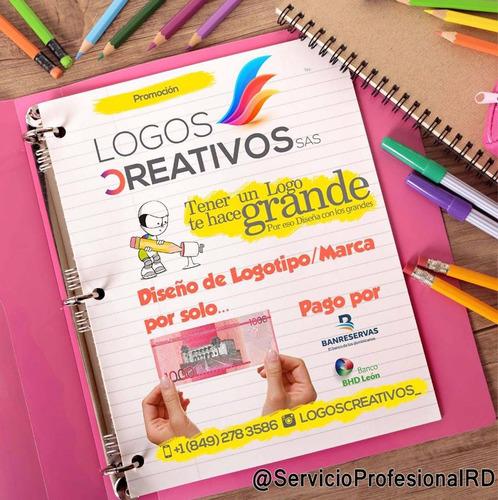 diseños de logos, tarjetas de presentacion, pendones, vallas