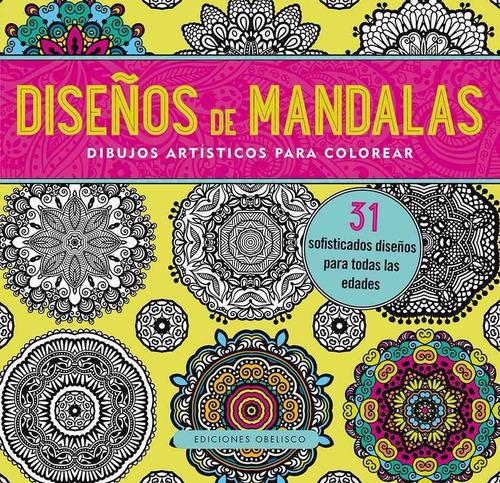 diseños de mandalas. dibujos artísticos para colorear