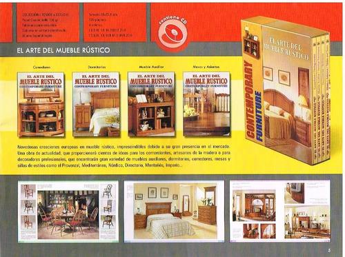 diseños de muebles rusticos