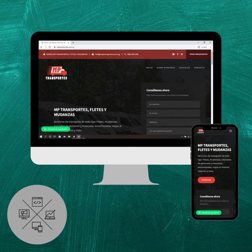 diseños de paginas web para tu negocio | desde $7500
