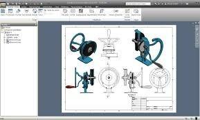 diseños en 3d autodesk inventor. autocad 2d y 3d