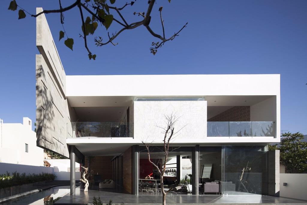 Dise os minimalistas casas fachadas planos autocad for Proyectos minimalistas