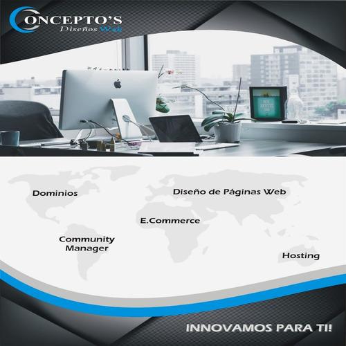 diseños  páginas web profesionales para su empresa o negocio