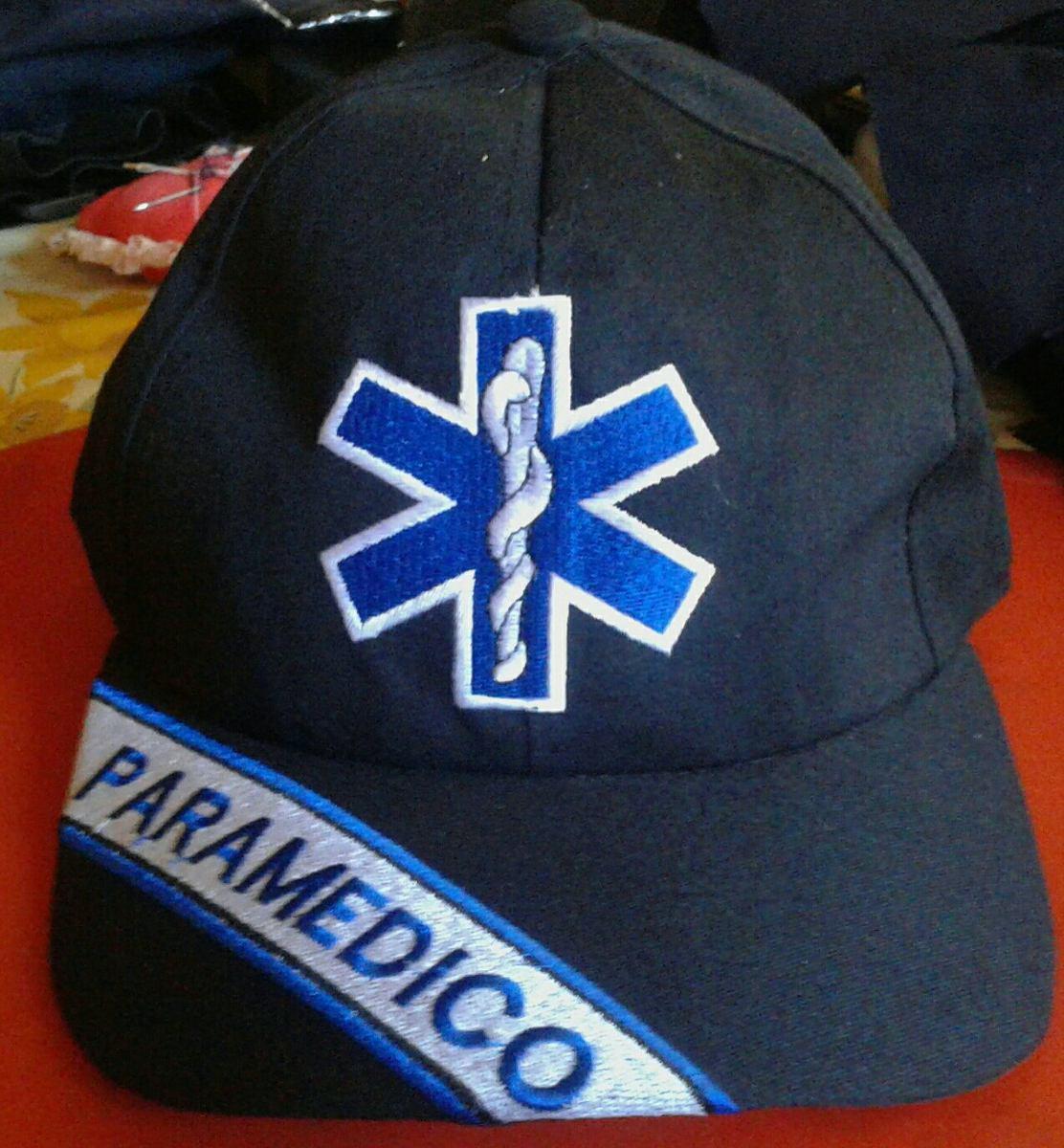 diseños para bomberos.. gorras bordadas de paramedico. Cargando zoom. 895b844d0a4