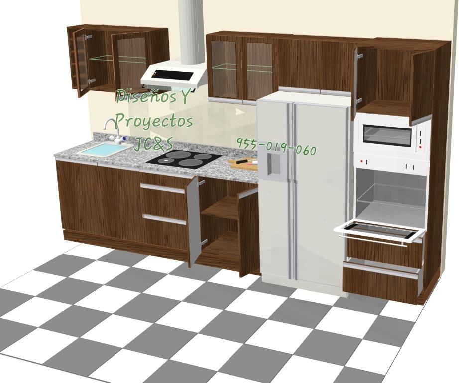 Diseños Para Cocinas En Melamina Y Granito Trato Directo - S/ 8,50 ...