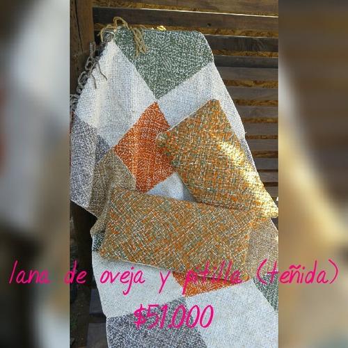 diseños tejidos lana natural de oveja alpaca e hilo