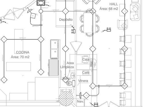 diseños y planos autocad / proyecto sistema contra incendios