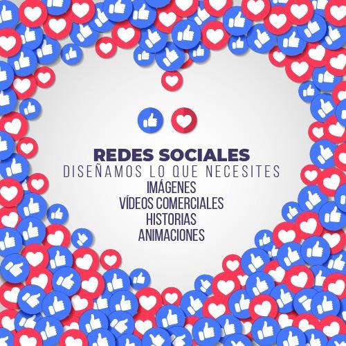 diseños y videos redes sociales