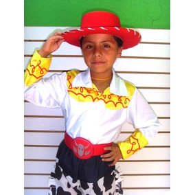 4dcb526f26a4e Disfraz Jessie Toy Story Niña Sombrero Pantalon De Mezclilla