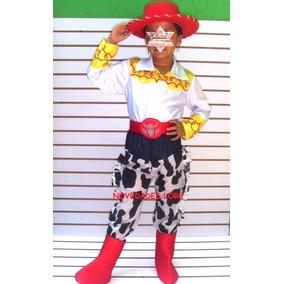 cbc525a6a2b1f Disfraz Jessie Vaquerita Con Botas Y Sombrero Toy Story Niña