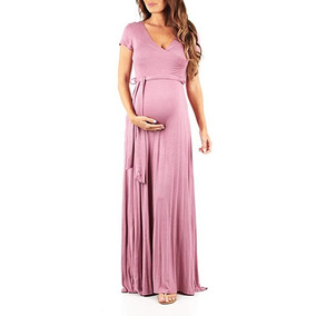 355fec1e1 Vestidos Embarazadas Largos Maternidad Baby Shower Elegantes