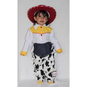 9c07ca4443cf5 Disfraz Jessie Toy Story Niña Sombrero Pantalon De Mezclilla ...