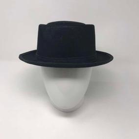 d8b6cbca7809e Sombrero Porkpie De Cuero Suave Para Hombres Henschel Con Fo · Sombrero  Porkpie