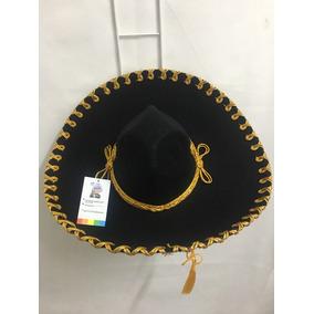4b72e95cd37e9 Sombrero De Charro Negro en Mercado Libre México
