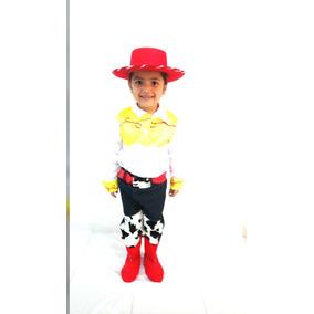 497531b316b8b Disfraz De Jessie Vaquerita Toy Story Con Sombrero Niña