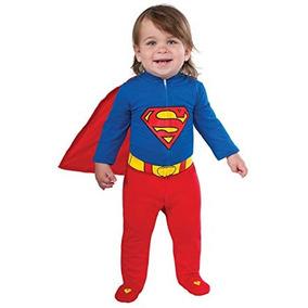 d14a6753c Superman Disfraz T 1 2 Bebe Niño Traje Estatua Warner Batman ...