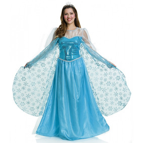 Vestido elsa frozen barato
