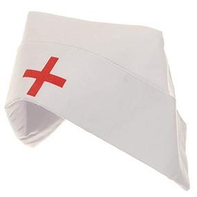a158824f63565 Disfraz Sombrero De La Enfermera Del Algodón De Jacobson Ha