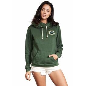 c3ce090638fb4 Sweater Sudadera Chamara Nfl Green Bay Packers Para Damas