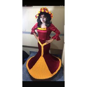 Disfraz Catrina Dama Disfraces En Mercado Libre México