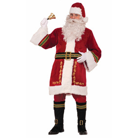 b1b81e4632f5d Disfraz De Santa Claus Adulto Talla 36 38 Fino Terciopelo ...