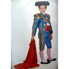 a3de5e78abc56 Torero Disfraz De Luces Carnavales Fiesta Brava Grati