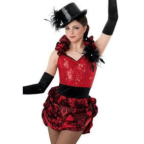 fc50e45b833fb Hermoso Vestido Disfraz Bailarina Jazz Contemporaneo Hip Hop