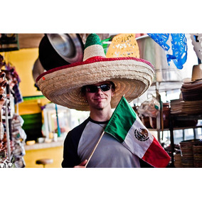 5d8a2e3008c3f Sombrero Viva Mexico Zapata Fiestas Patrias Mexicana Mundial