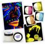 Pintura Uv Glow Neón Fluo Cuerpo Blacklight Body Painting