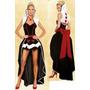 Disfraz De Reina De Corazones - Importados - Originales 100%