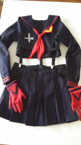 disfraces cosplay ryuko, maka, hatsune, otros.
