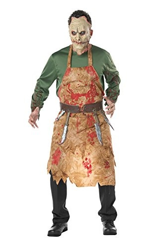 Disfraces De Halloween Para Hombre Carnicero Sangriento Traj - Disfraz-de-halloween-para-hombre
