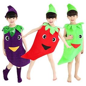 Disfraces De Halloween Para Ninos Adultos Verduras Estilo