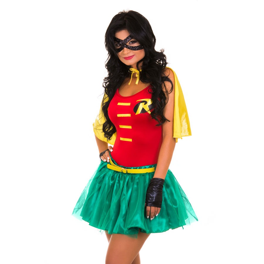disfraz mujer robin