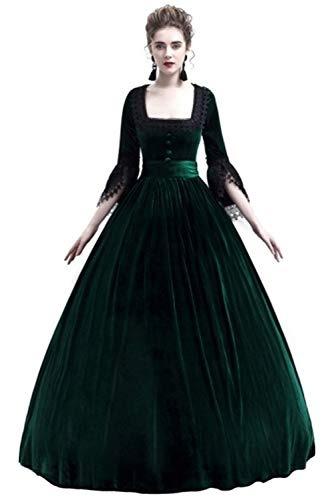 Medievales Mujeres Disfraces Renaissance De Retro Halloween 08nkwPOX