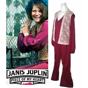 Disfraz Retro Tributo A Janis Joplin Grande