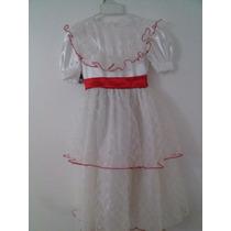 Disfraz De Princesa Talla 4 (solo El Vestido)