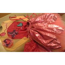Disfraz De Hada Bailarina Para Niña Talla 8-10 Años Bello!!