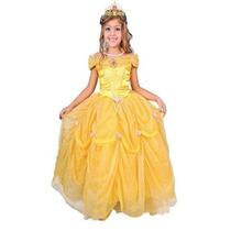 Disfraz Carnavalito Princesa Bella Niña Talla: 4-6-8