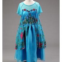 Disfraz Elsa Frozen Fever Vestidos Para Niñas