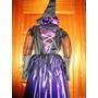 Disfraz De Bruja Elegante Color Morado Para Niñas